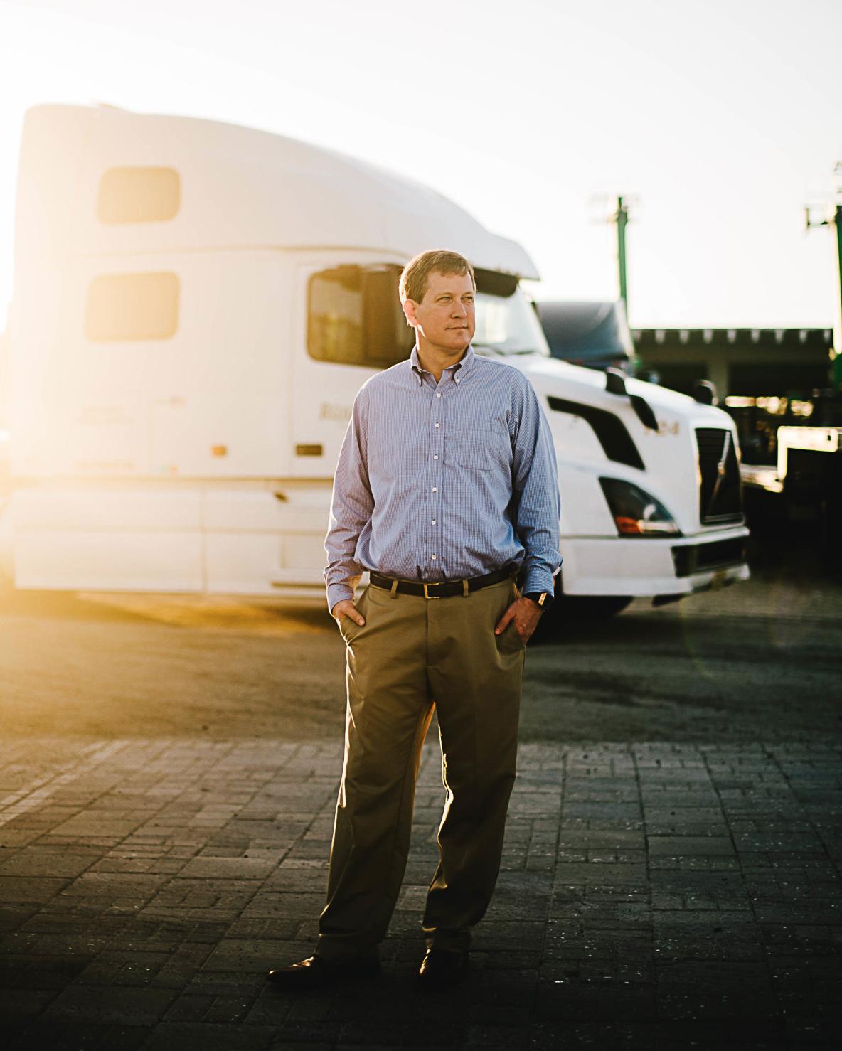 Atlantic Logistics CEO Rob Hooper