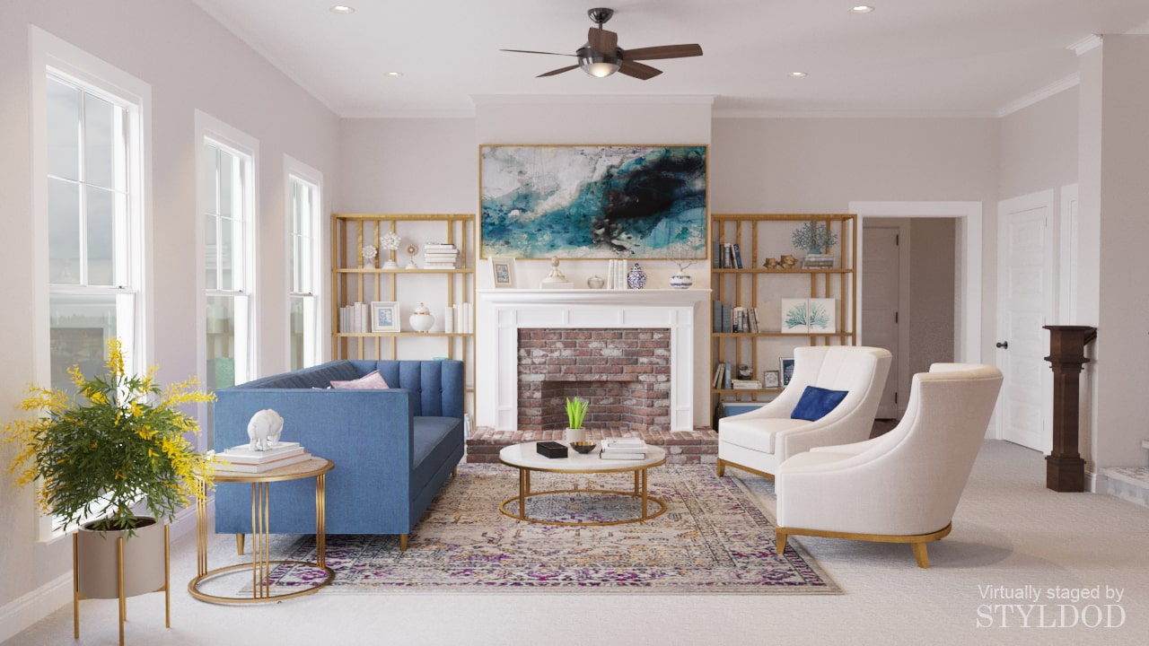 Virtual Home Staging Interior Design Solutions Styldod
