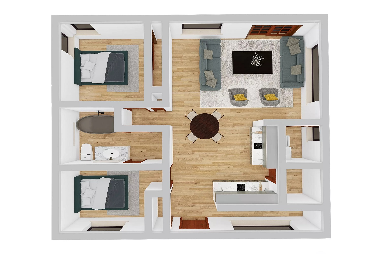 Floorplan - After