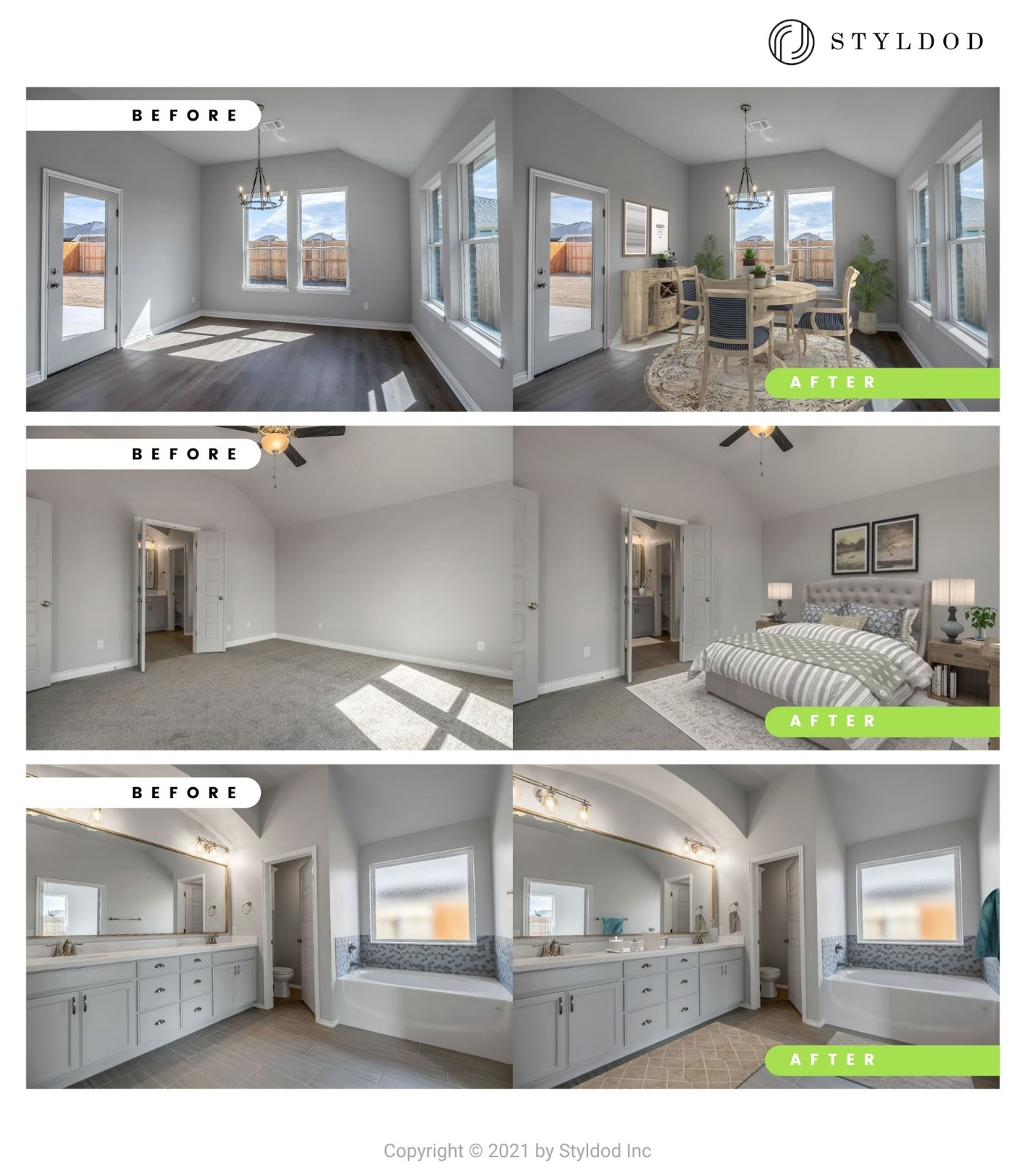 Virtual Staging Example