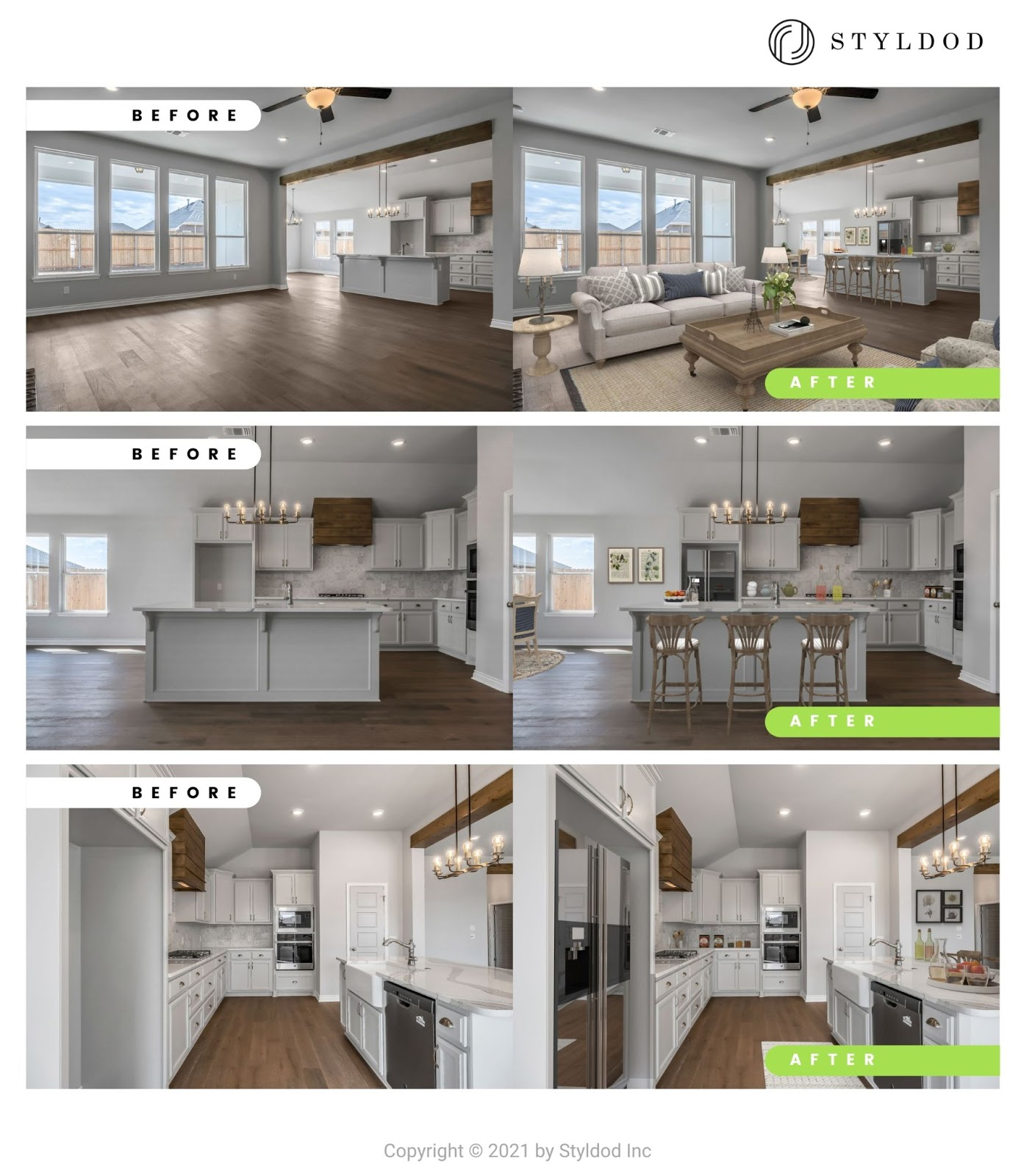 Virtual Staging photo