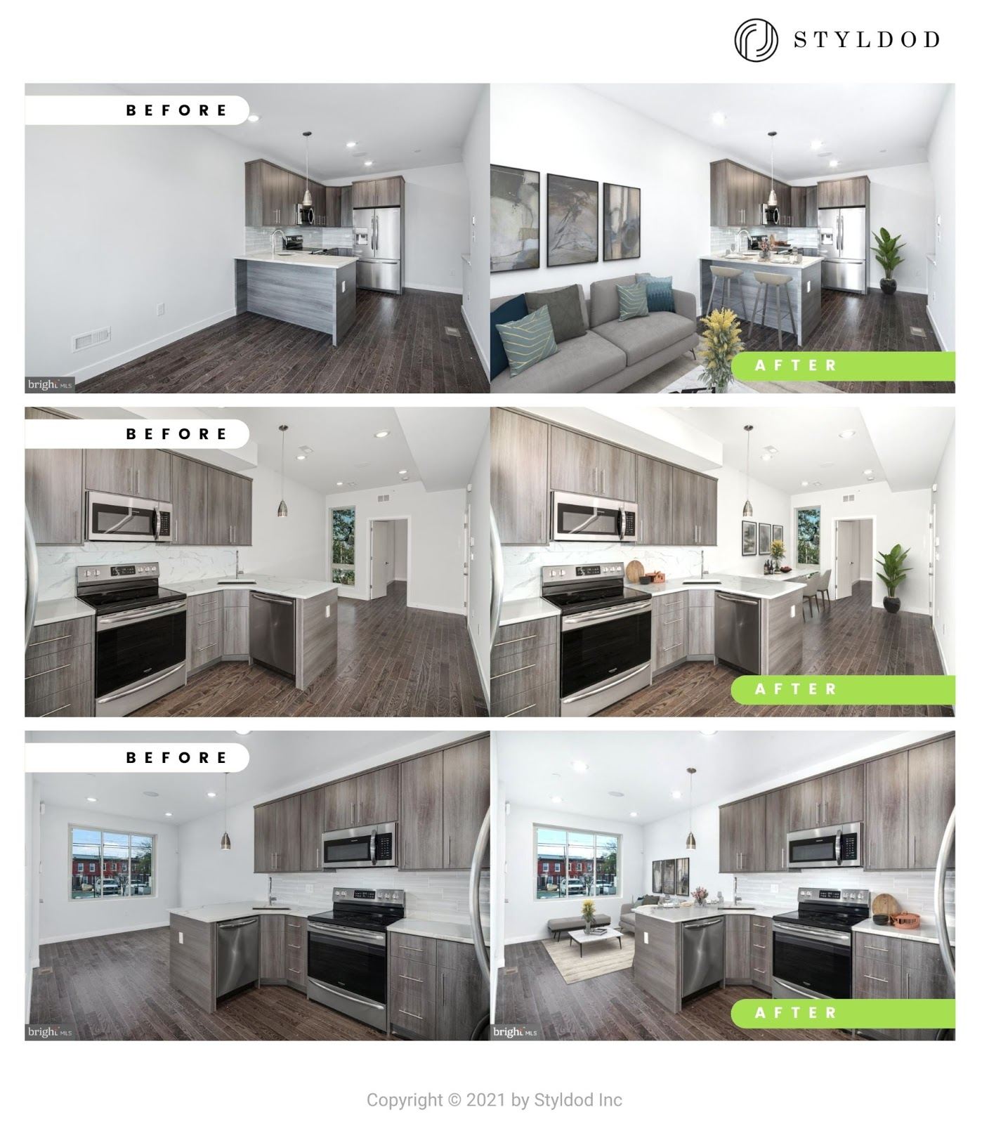 Modern Style Virtual Staging
