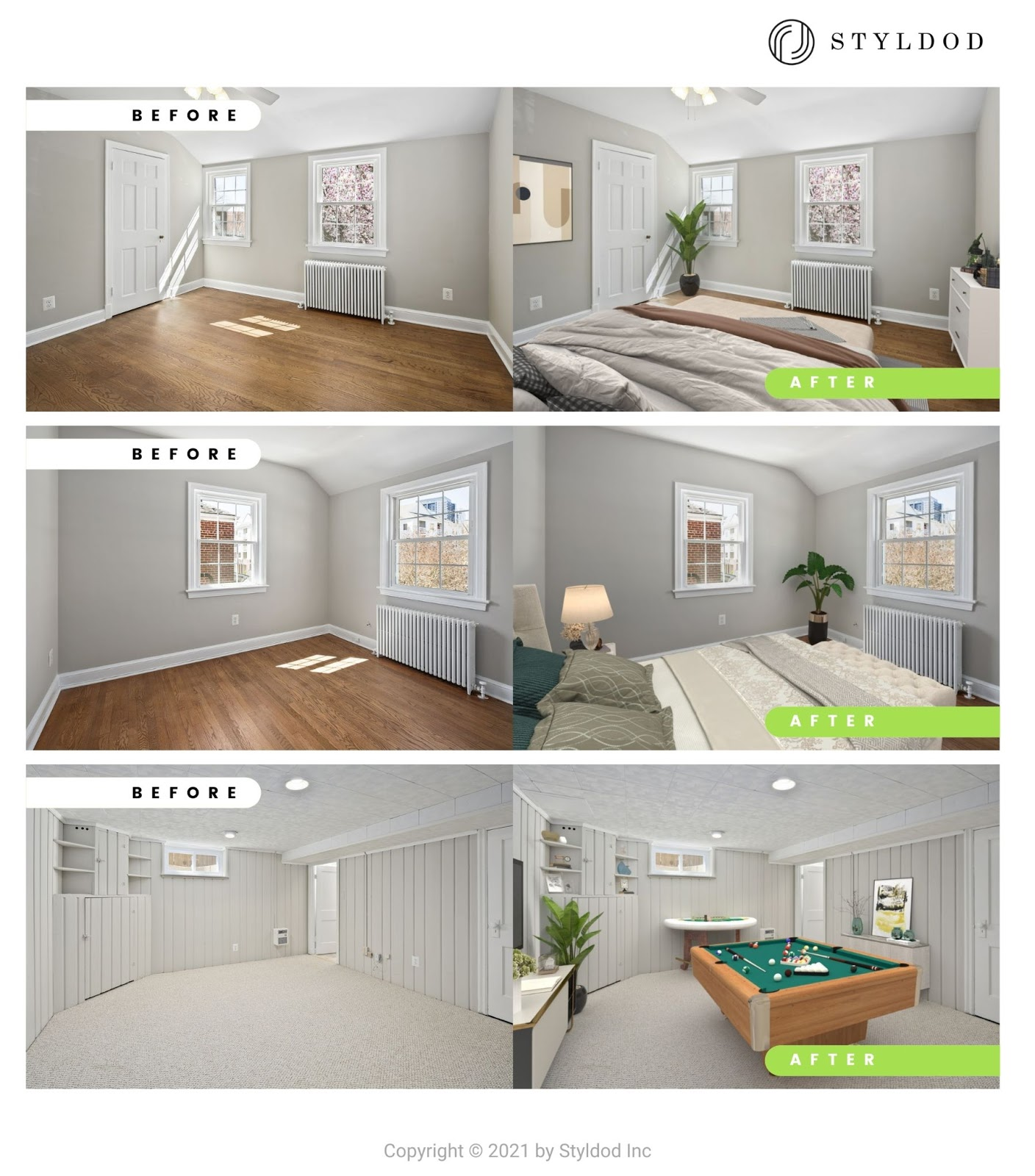 The Best Virtual Staging Photo