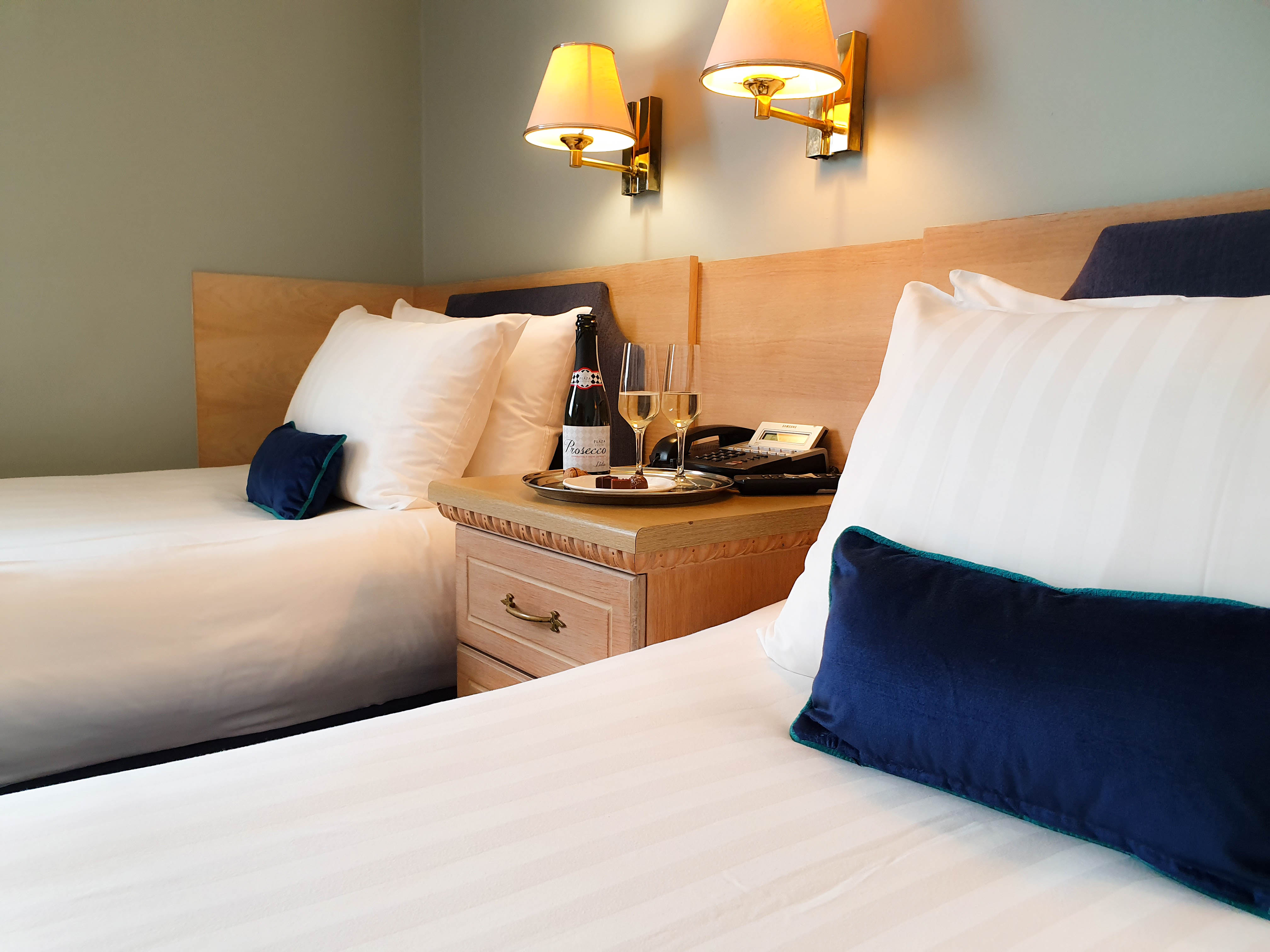 Hotel Collingwood Bournemouth Twin Bedroom