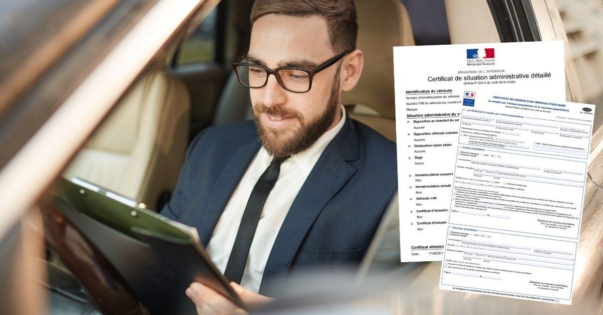 Certificat de cession et de non gage obligatoires ?