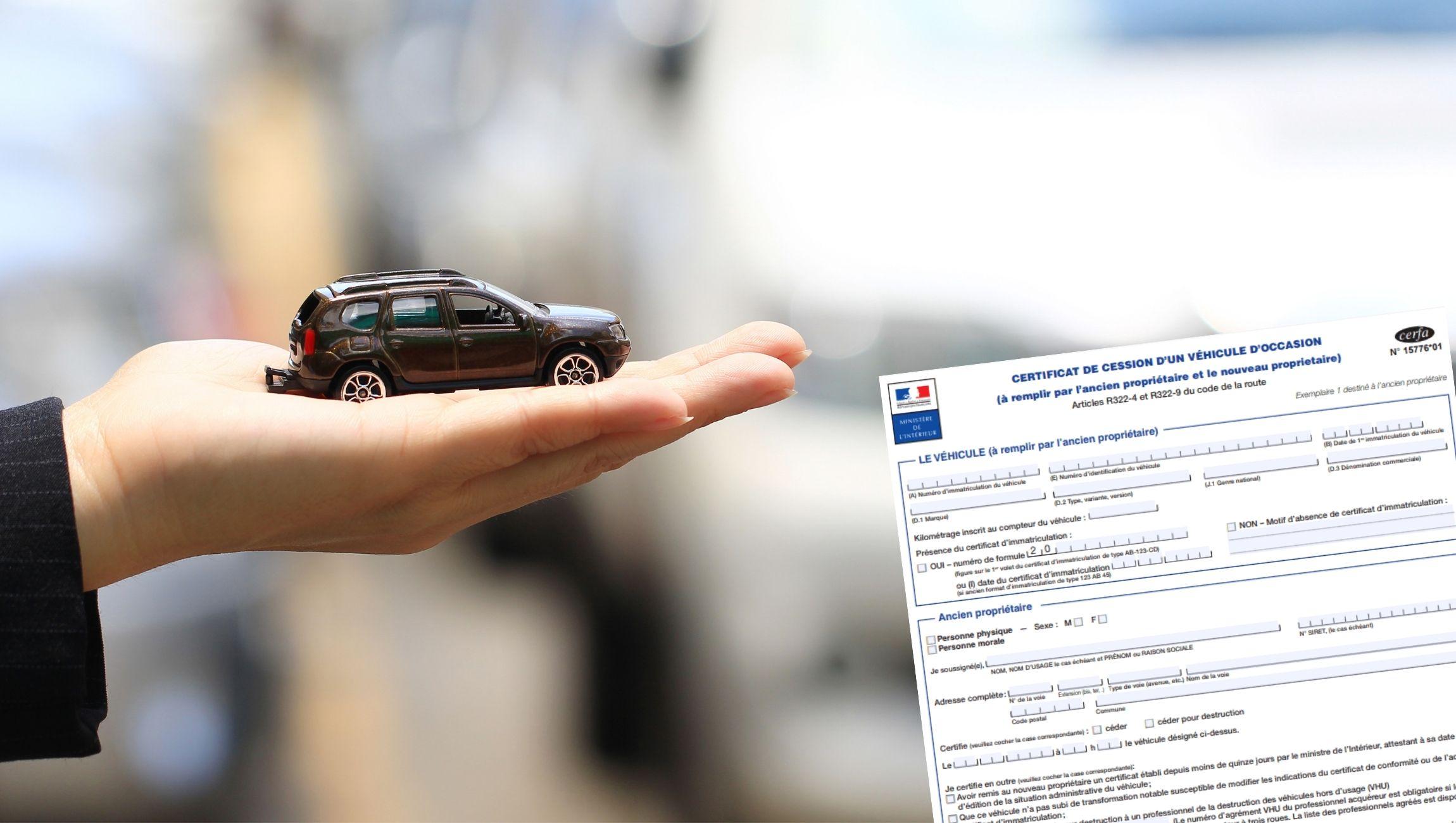 Certificat de cession : qui garde quoi ?