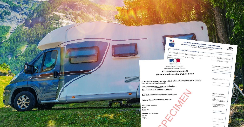 Certificat de cession camping car