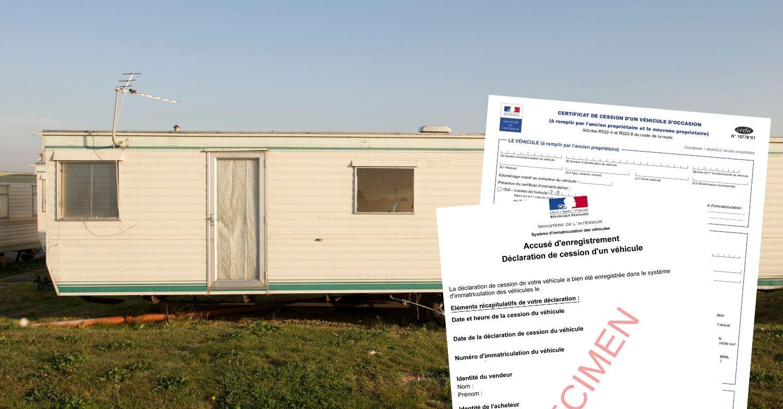 Certificat de cession mobil home