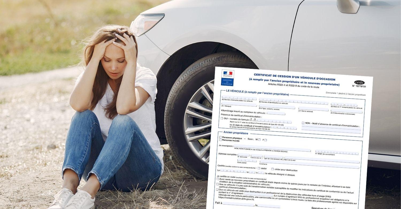 Certificat de cession perdu : que faire ?