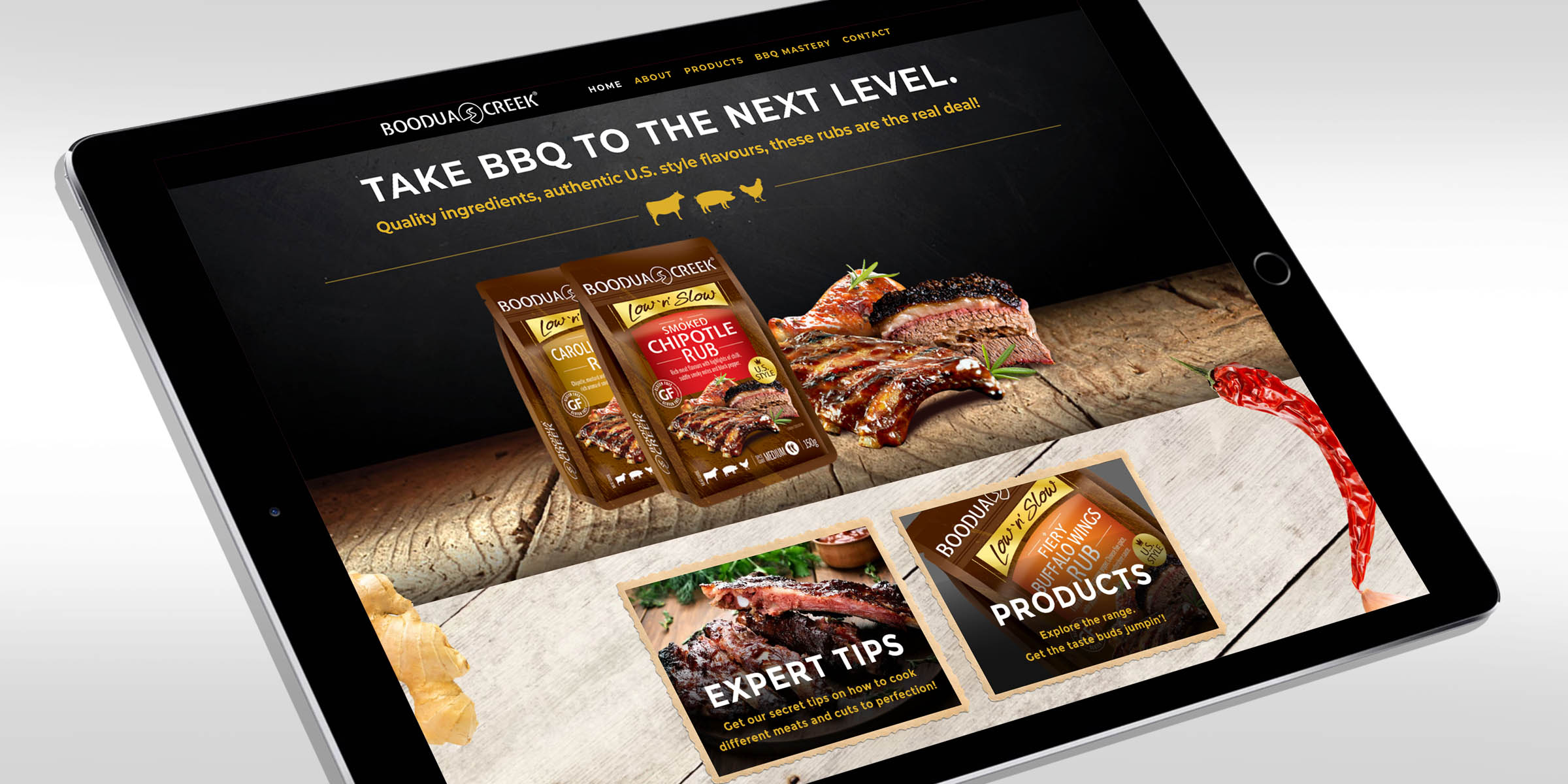 On this project. we created a fully responsive website to promote the new range of products and build a following.