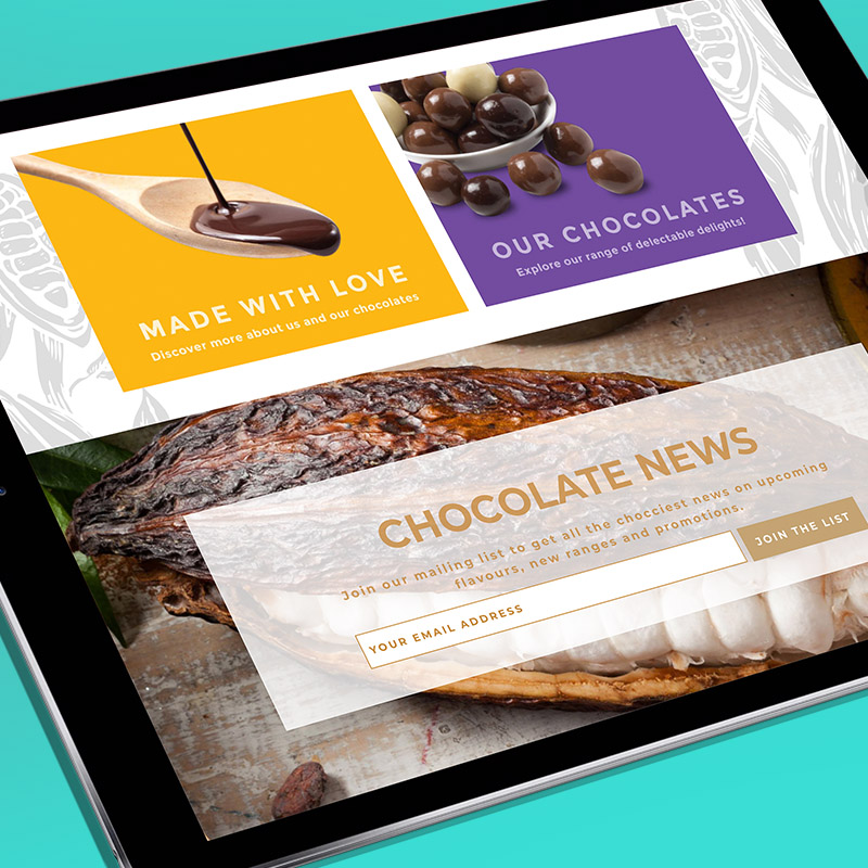Byron Bay Chocolate Co Website