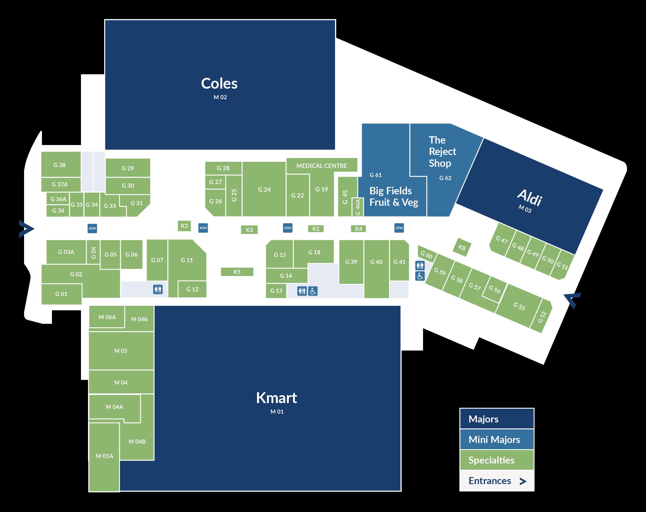 Keilor Central Centre Map