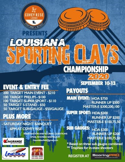 La Sporting Clays Championship 2020