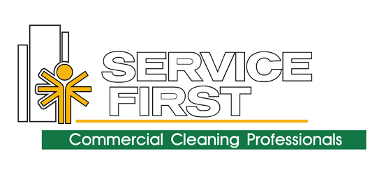 Service First Commercial Cleaning Services logo