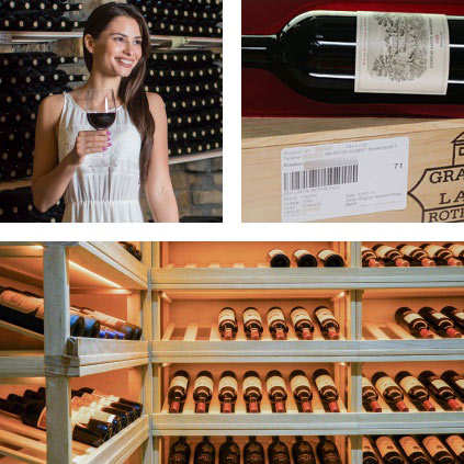 Perfect wine storing conditions