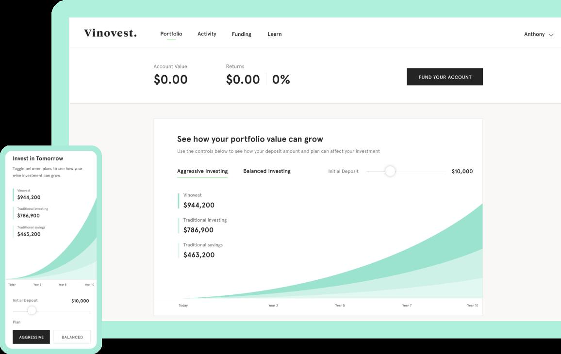 Your customized portfolio