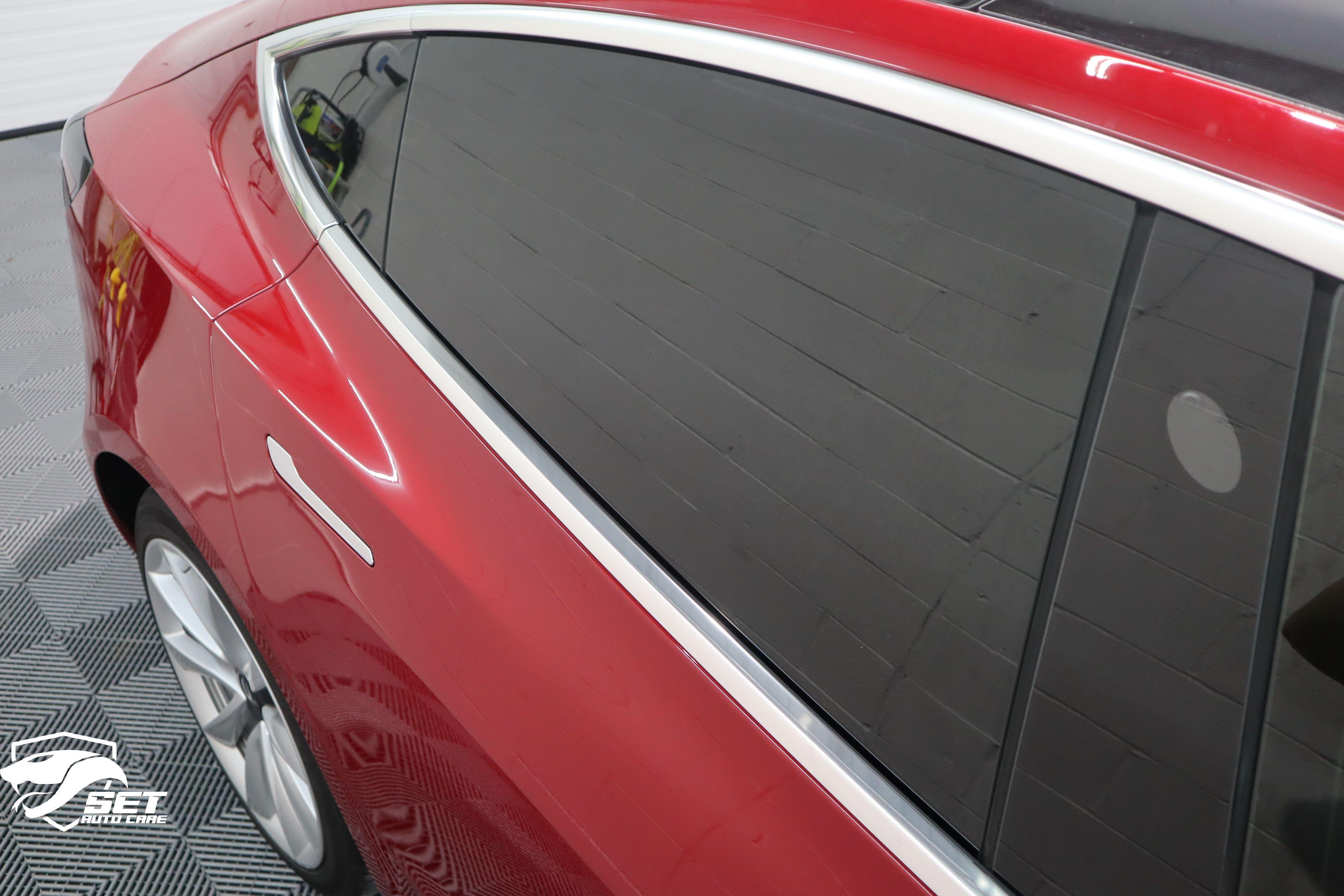 Tesla's with window tint