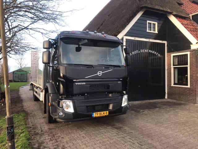Volvo FE oprijwagen