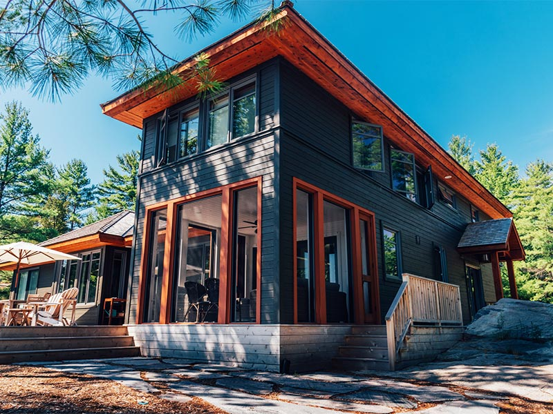 Cottage on Canadian Shield