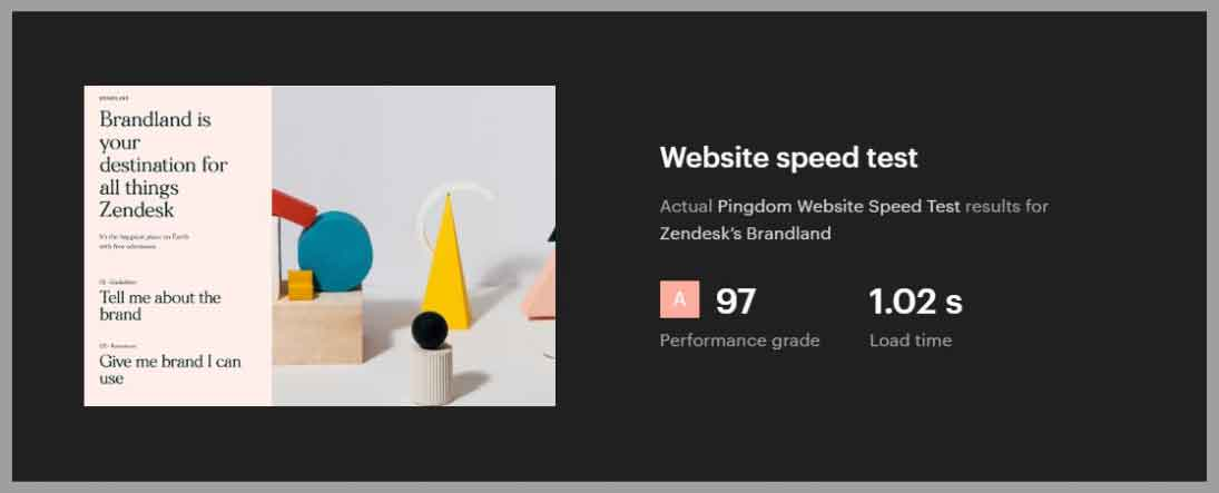 webflow pagespeed