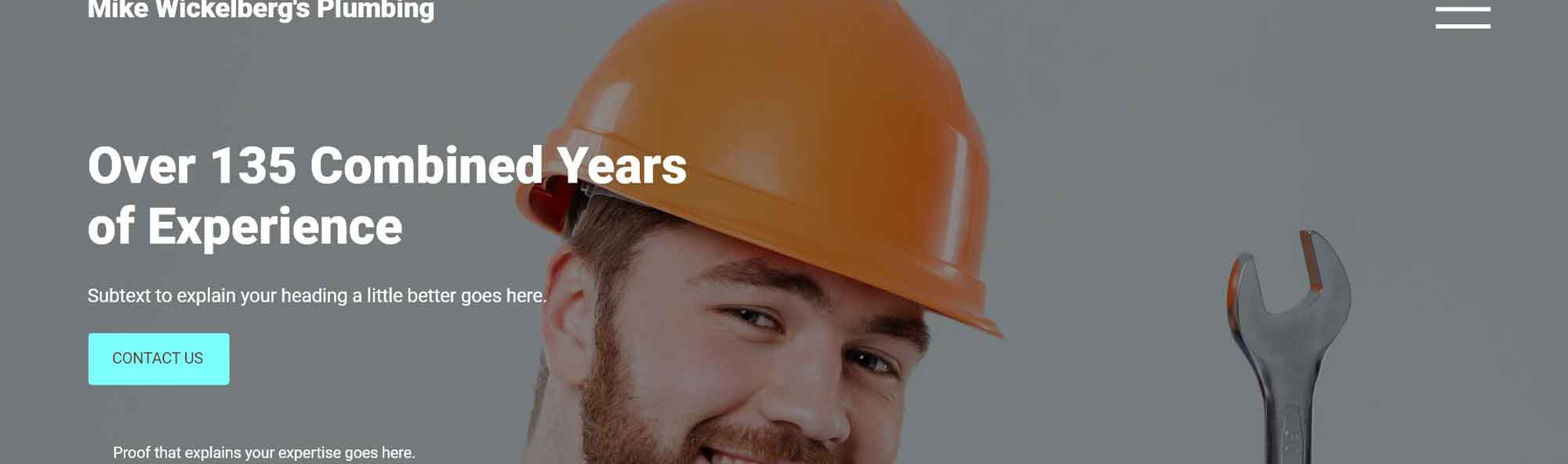 years of experience headline example