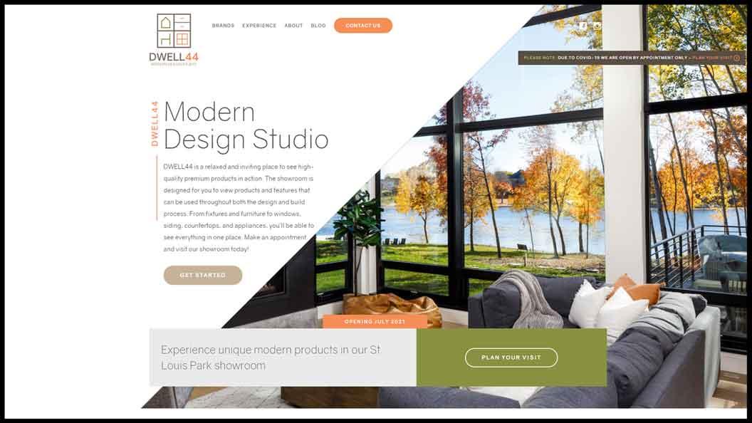 Dwell44 Website