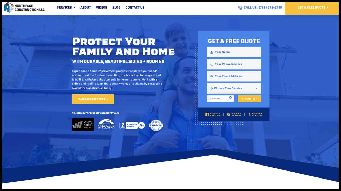 Northface Website