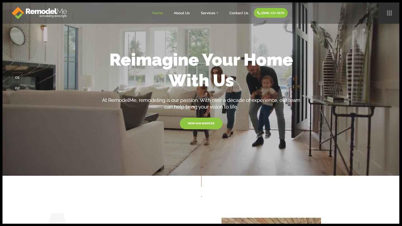 RemodelMe Website