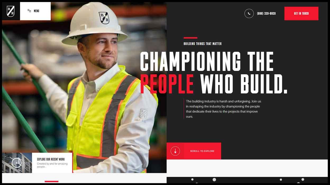 Building Resources Web Design