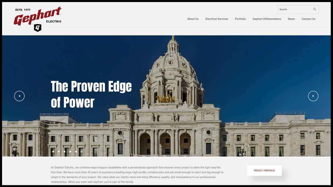 Gephart Website