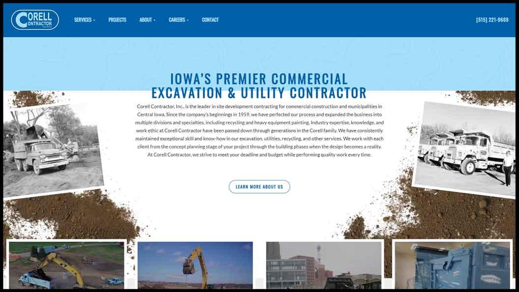 Corell Website
