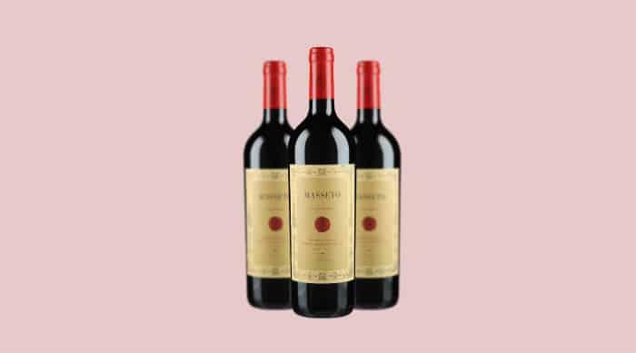 red wine brands: 2005 Masseto Toscana IGT