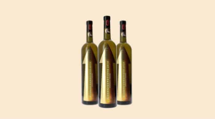 moscato wine:  2018 Azienda Agricola Serragghia 'Riserva Genevieve' Zibibbo Terre Siciliane IGT, Sicily, Italy