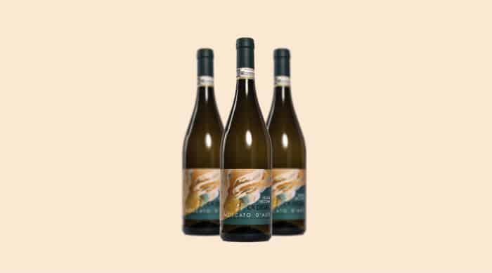 moscato wine: 2011 Ca' d'Gal Vigna Vecchia, Moscato d'Asti DOCG, Italy