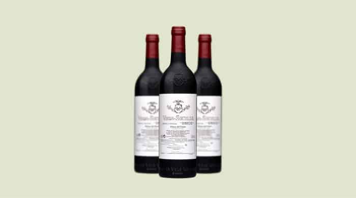 Tempranillo Wine: 2018 Vega Sicilia Unico Gran Reserva