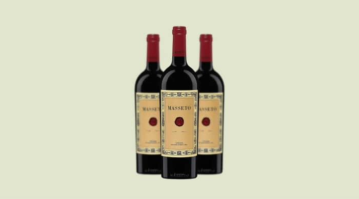 Christmas wine: Masseto Toscana IGT 2015, Tuscany (Italy)