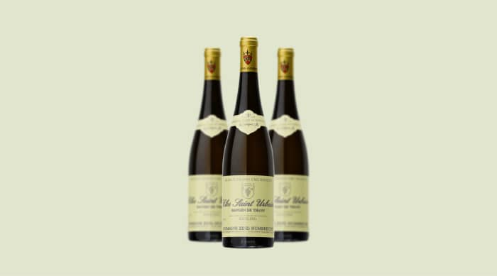 Christmas wine: Domaine Zind-Humbrecht Pinot Gris Rangen de Thann Clos Saint Urbain 2016, Alsace Grand Cru (France)