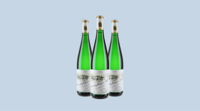 sweet wine: 2018 Egon Muller Scharzhofberger Riesling Trockenbeerenauslese, Mosel, Germany