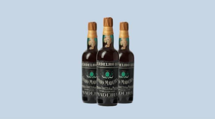 Sweet wine: 1850 Companhia Vinicola da Madeira CVM Malmsey Vintage, Madeira, Portugal