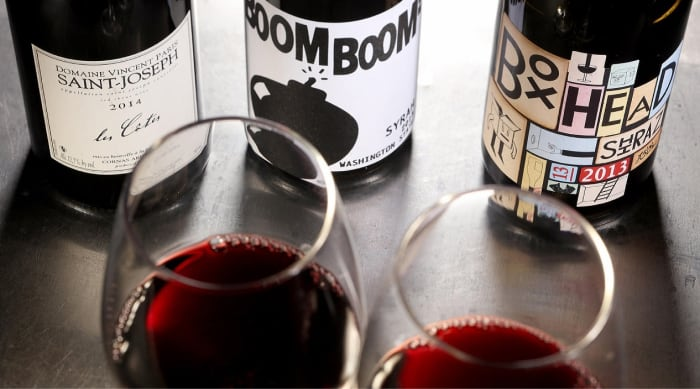 What happens to red wine after you uncork it?