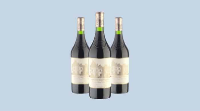 French red wine: 2018 Châteaux Haut Brion, Pessac Leognan Rouge, Bordeaux