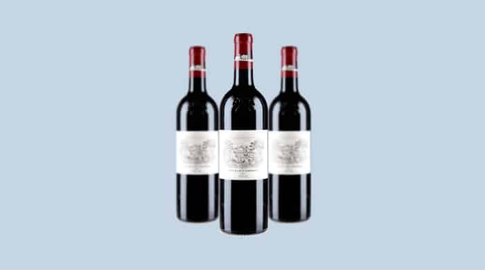 French red wine: 2018 Chateau Lafite Rothschild, Pauillac, Medoc, Bordeaux