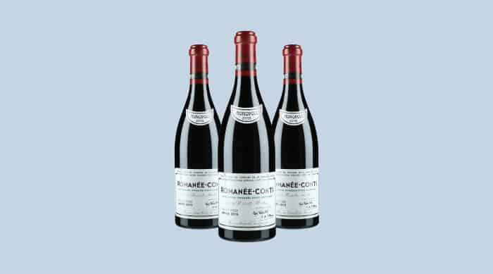 French red wine: 2016 Domaine de la Romanee, Conti Romanee, Conti Grand Cru, Burgundy