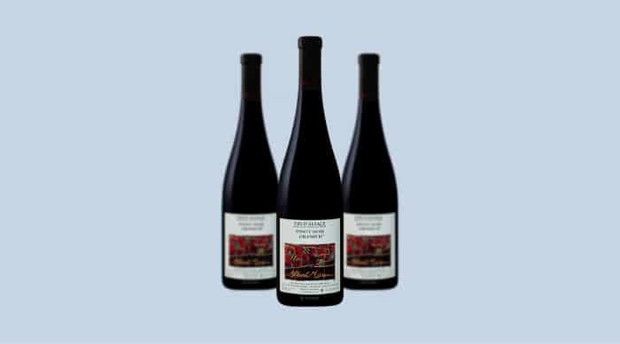 French red wine: 2016 Albert Mann Pinot Noir Grand H, Alsace