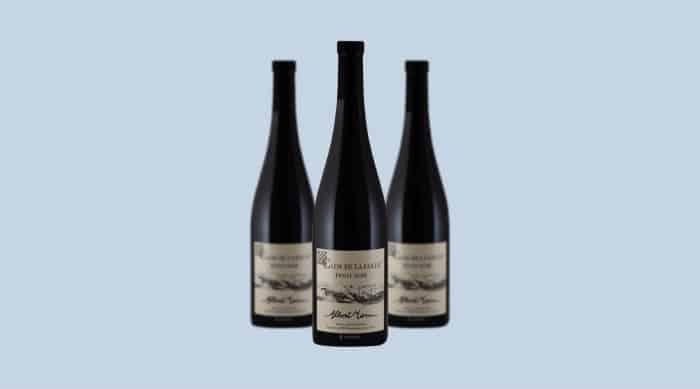 French red wine: 2017 Albert Mann Pinot Noir Clos de La Faille, Alsace
