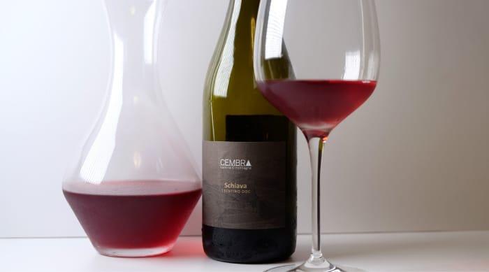 Sweet red wine: 2017 Cembra Schiava Trentino