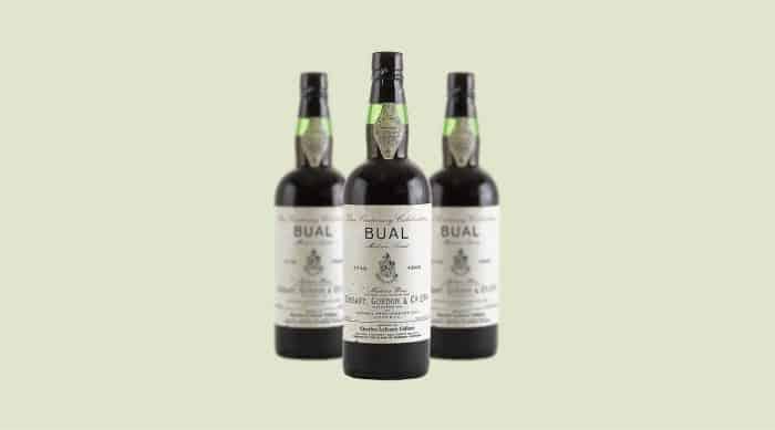 Sweet red wine: Cossart Gordon Centenary Bual