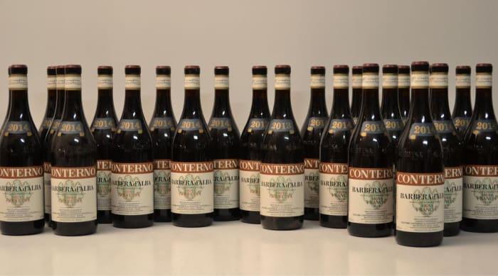 Red wine vs white wine: Barbera