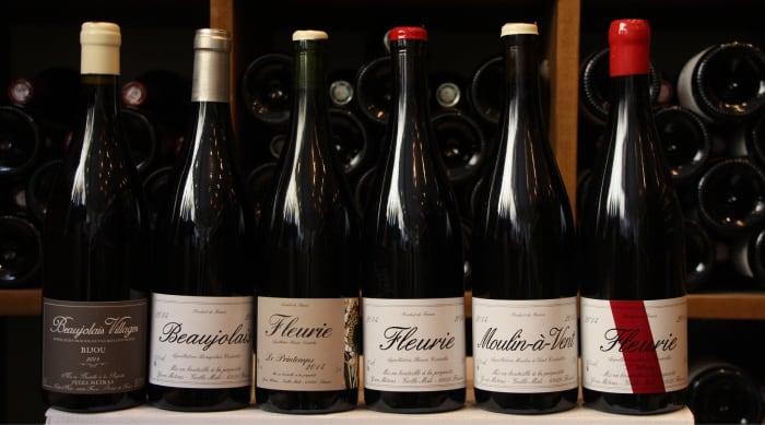 Red wine vs white wine: Gamay