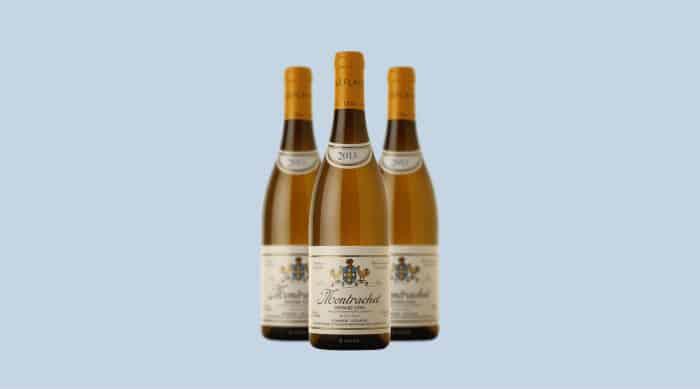 White Burgundy wine: Domaine Leflaive Montrachet Grand Cru 2013